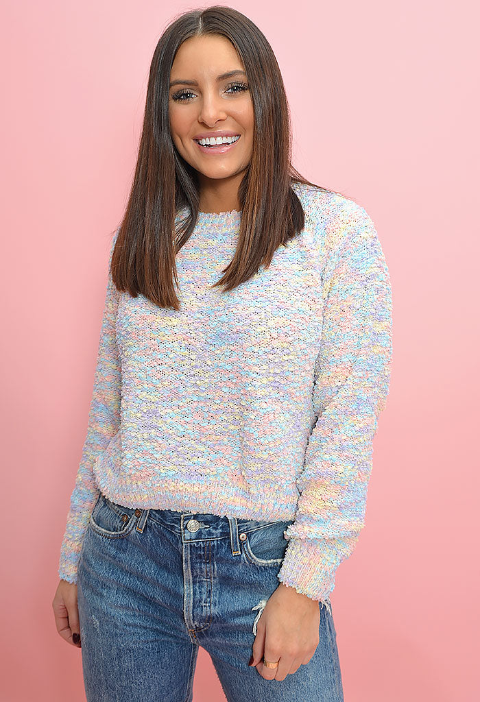 Cotton Candy Dreams Sweater