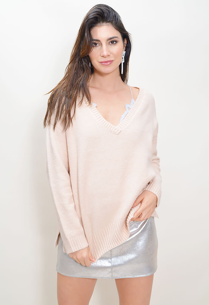 Fair Warming Sweater - Rose