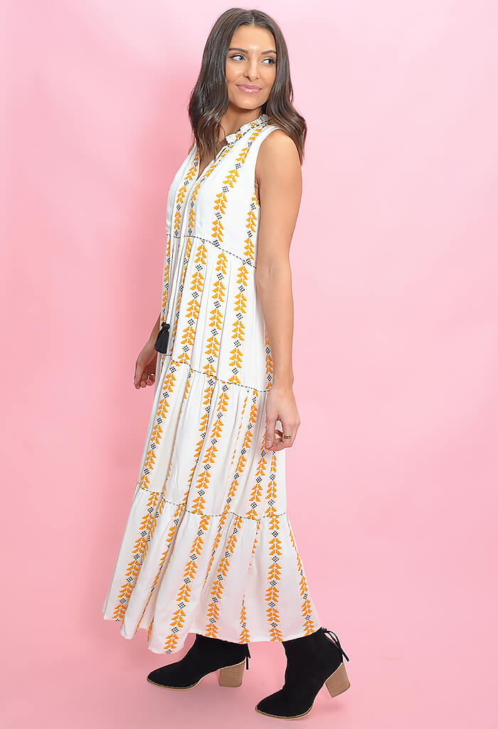 THML Sunglow Maxi Dress