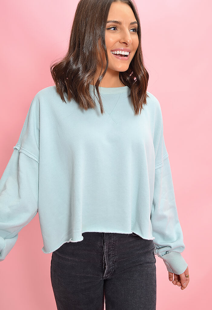 KK Bloom Kelly Sweater-Mint