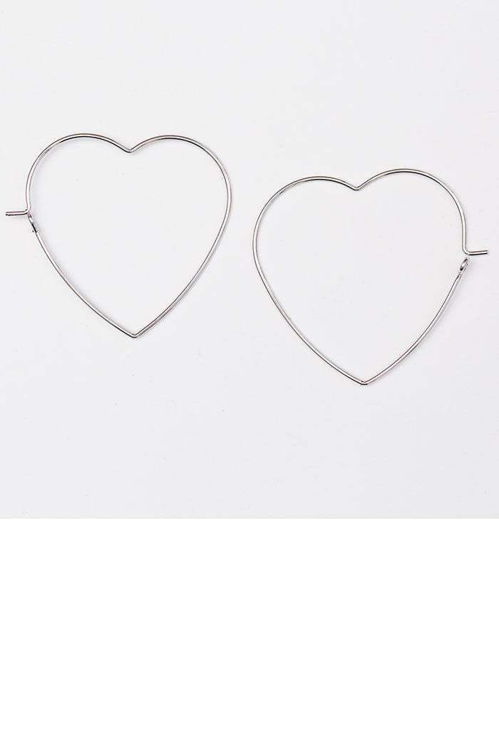 Lots of Love Earrings - Silver