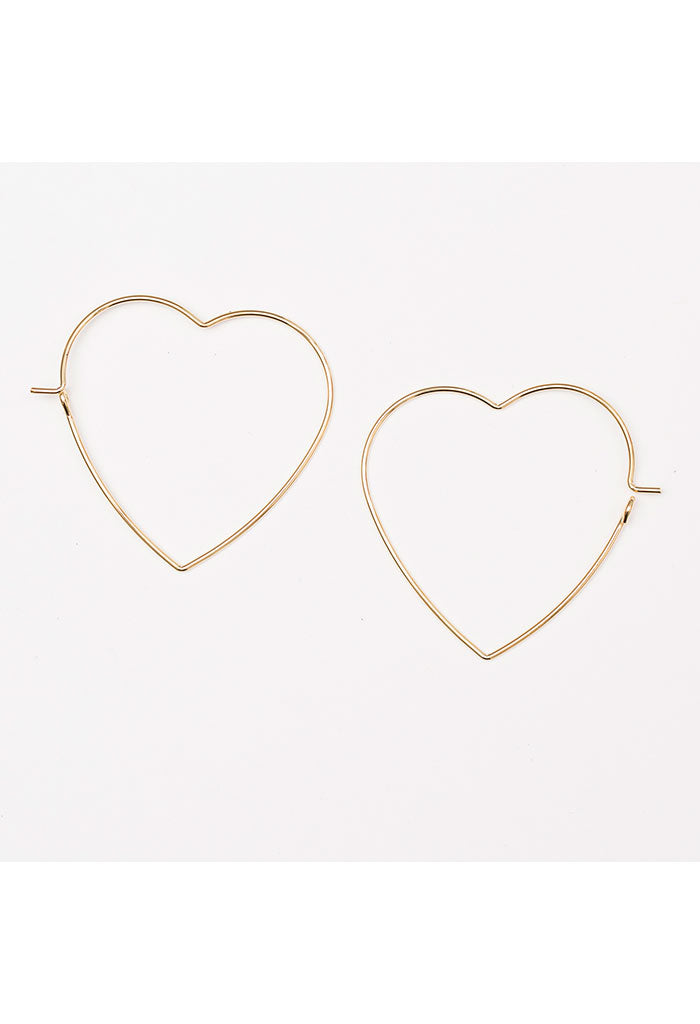 Lots of Love Earrings - Gold