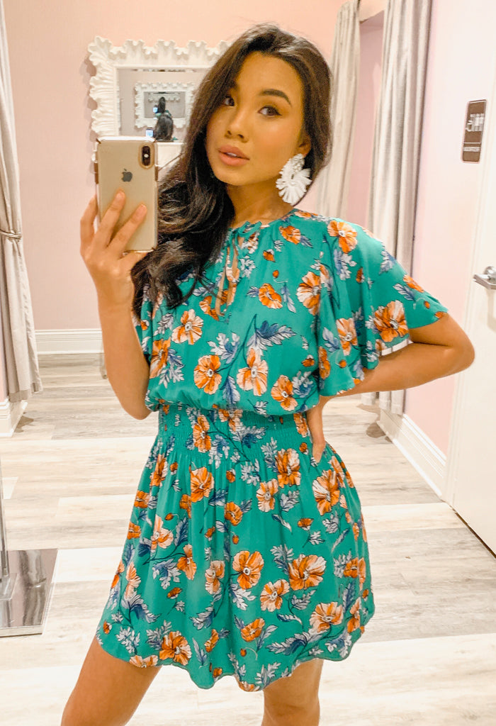 Always Blooming Dress