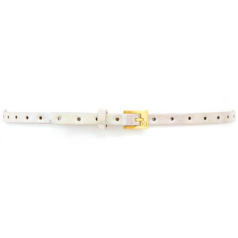 Dotty Belt - Silver