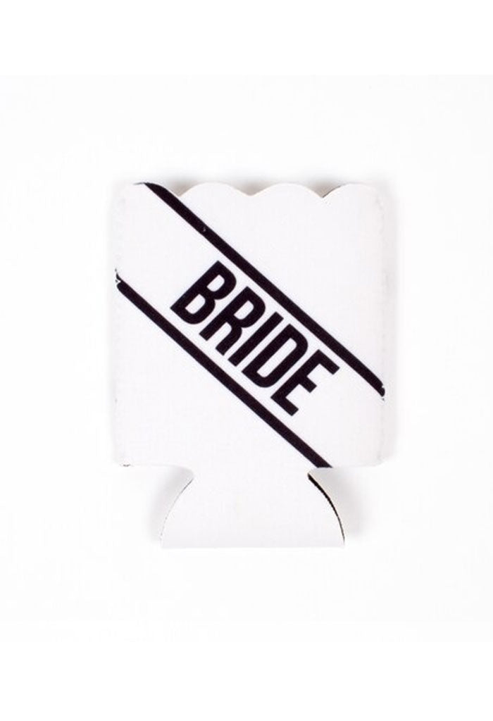 KK Bloom Scalloped Koozie-Bride