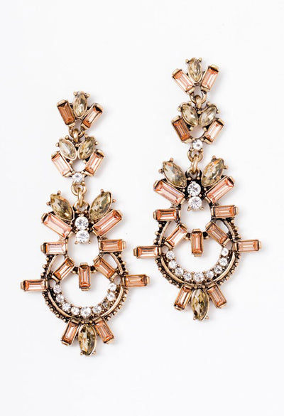 Champagne Toast Earrings