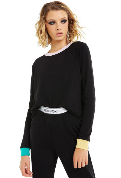 Beachouse Crop - Clean Black