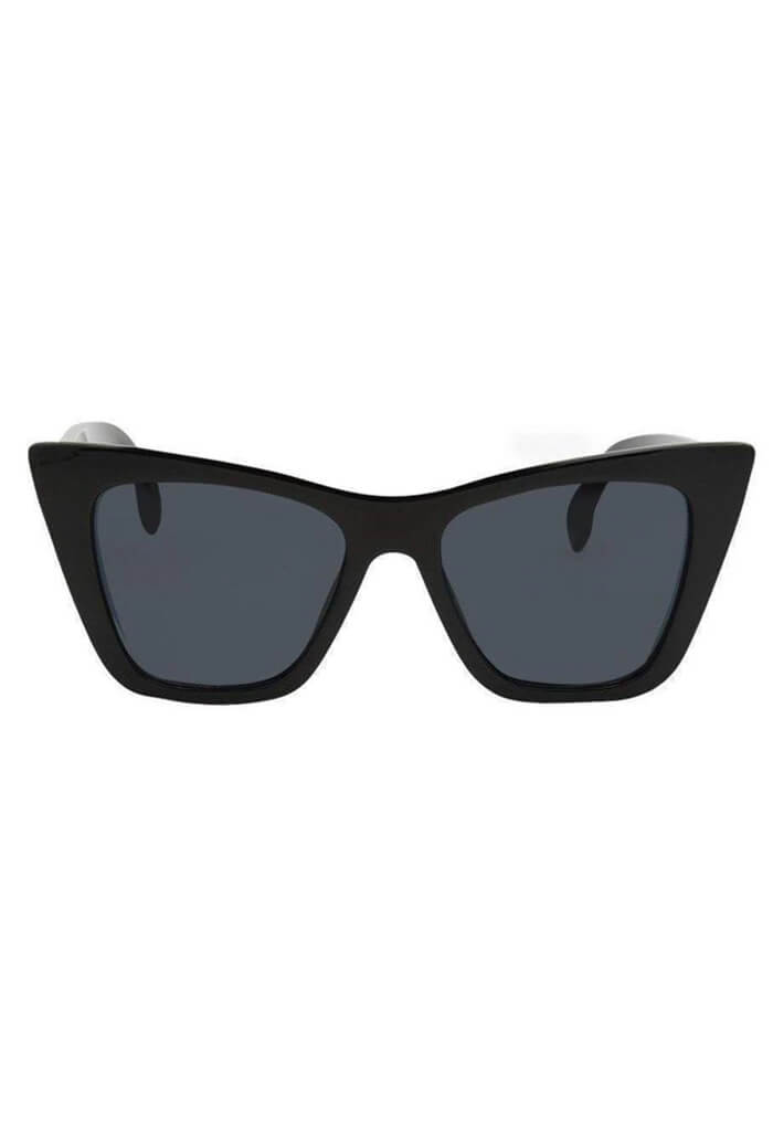 ISEA Ashbury Polarized Black Sunglasses-front