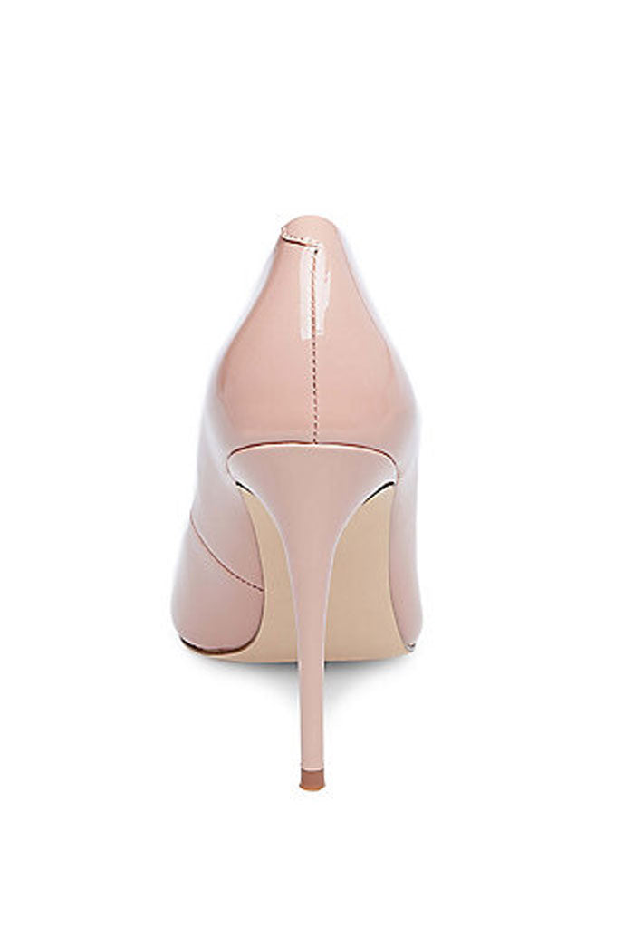 Daisie Pump - Dark Blush Patent