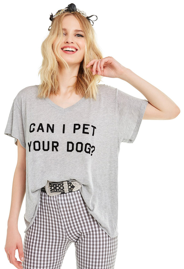 Can I Pet Your Dog? Romeo Tee