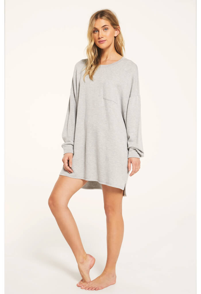 Z Supply Harper Fleece Dress-front