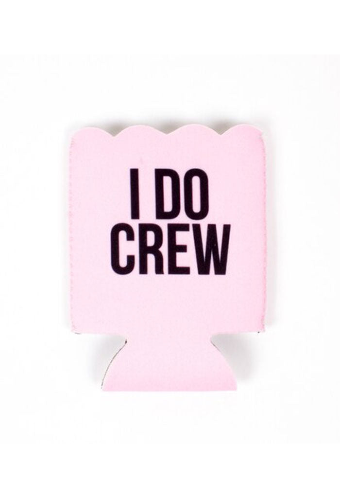 KK Bloom Scalloped Koozie-I Do Crew