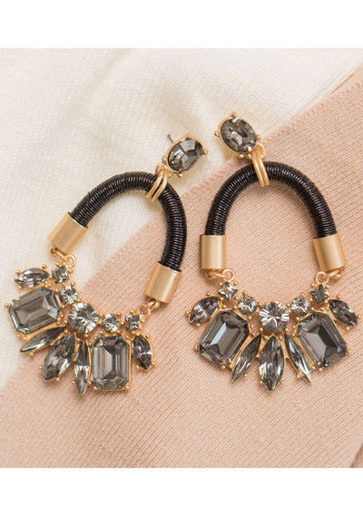 Make Believe Earrings - Black