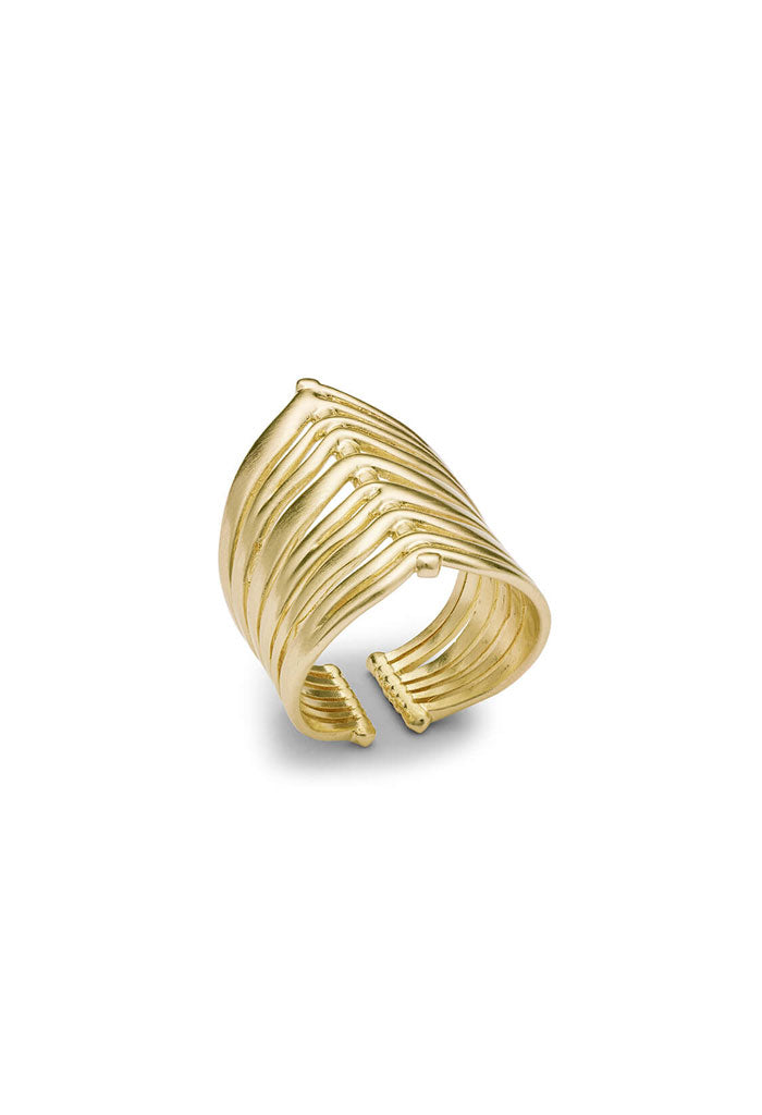 Liv Cocktail Ring - Gold