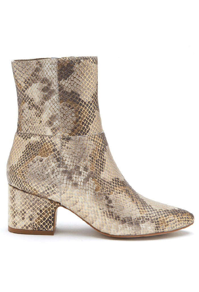 At Ease Boot - Metallic Snake
