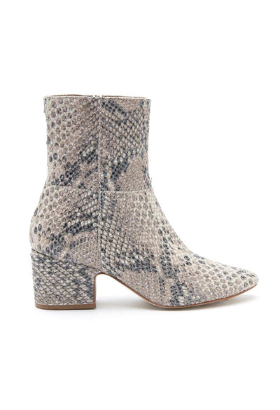 At Ease Boot - Natural Snake