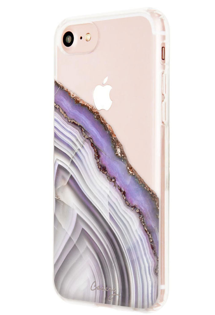 Light Purple Agate - iPhone 8/7/6s/6