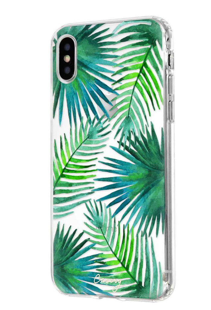 Palm Leaves Case - iPhone X
