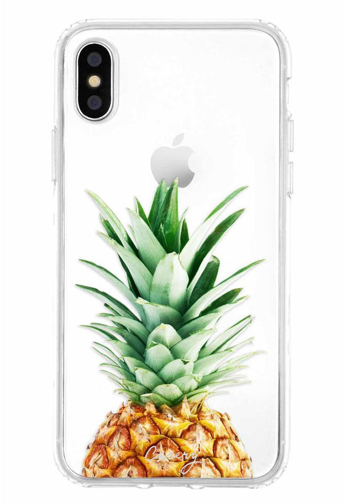 Pineapple Top Case - iPhone X