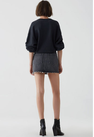 QUINN HI RISE MINI SKIRT IN JINX