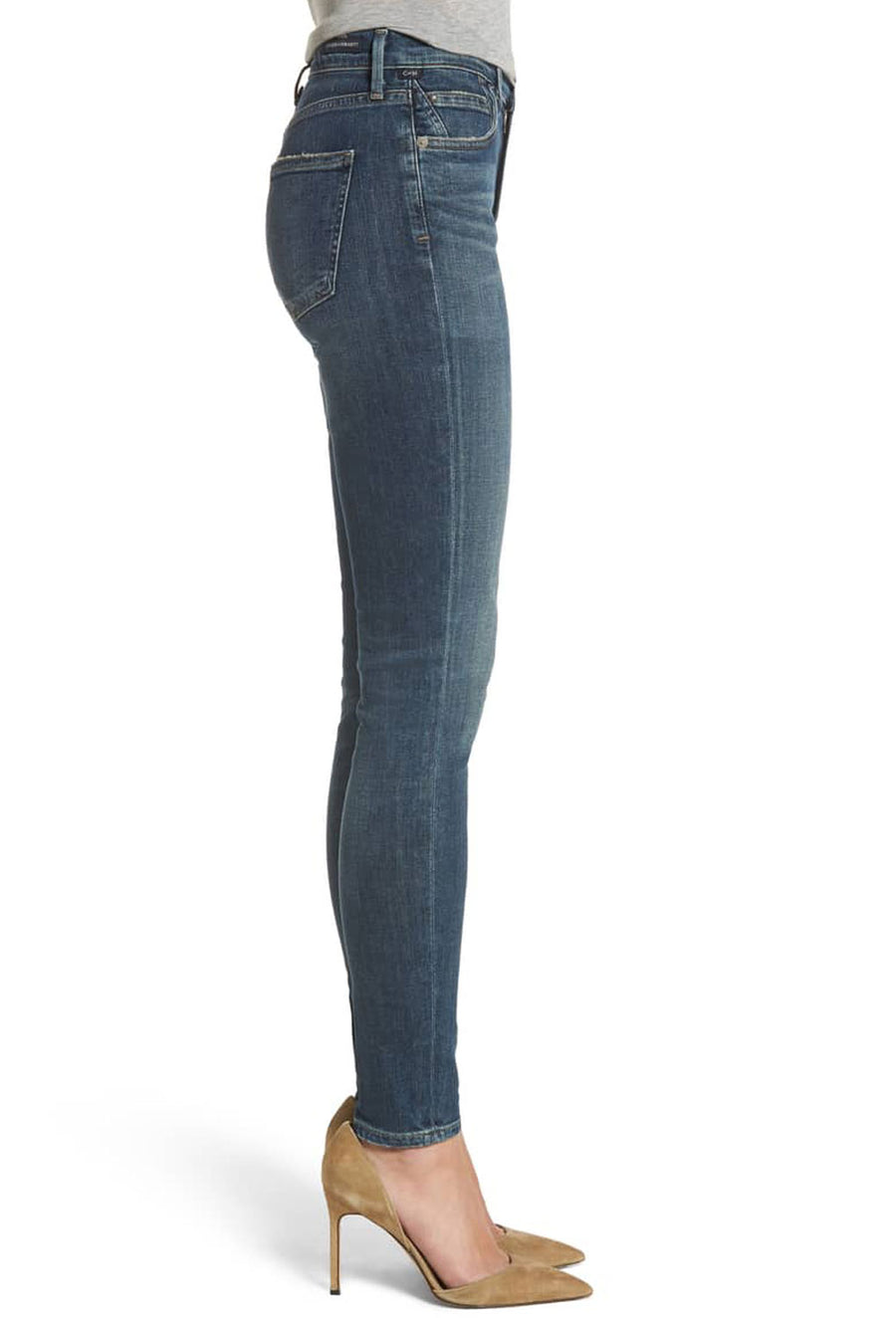 ROCKET HIGH RISE SKINNY - RIVAL