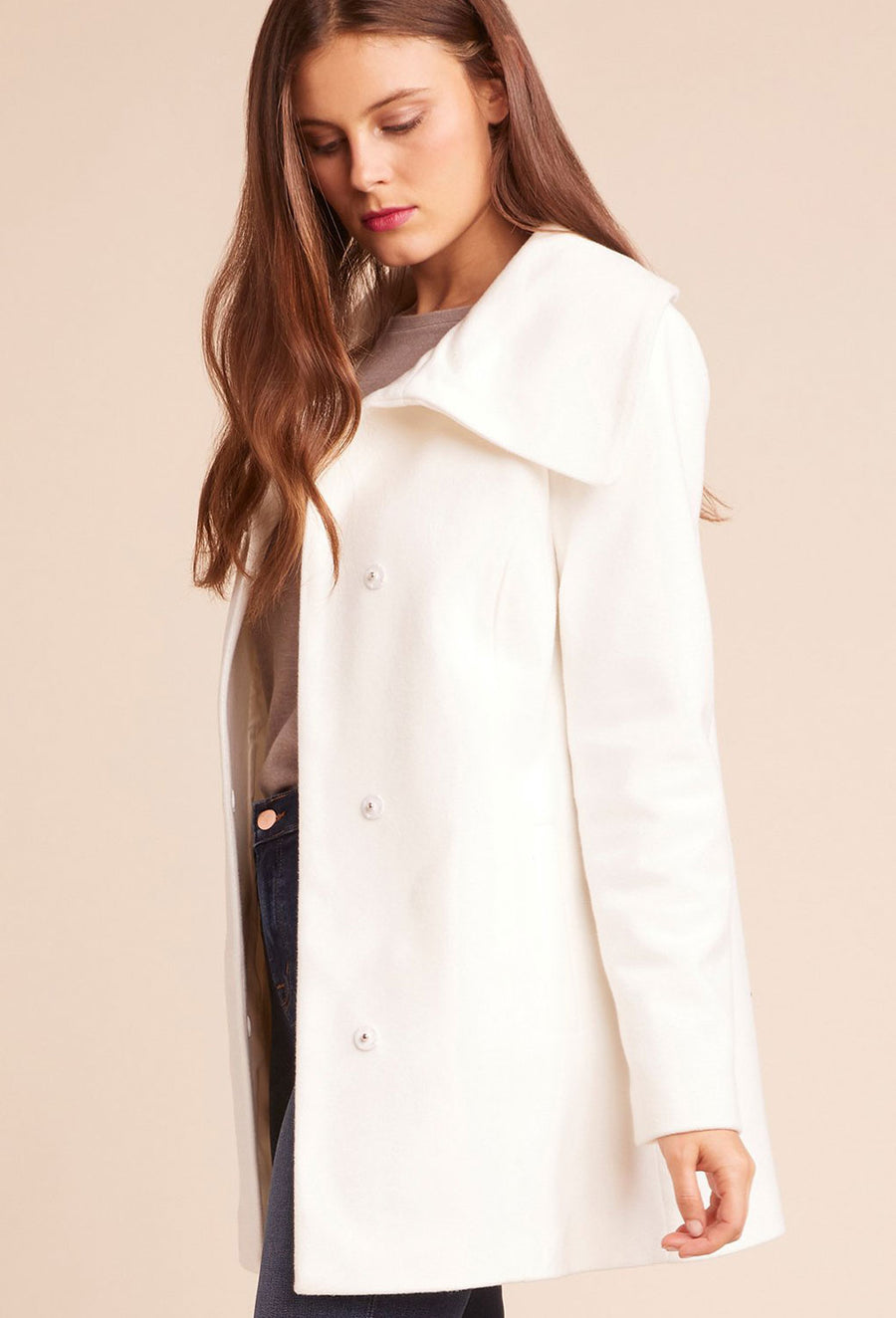Friday Feeling Coat - Ivory