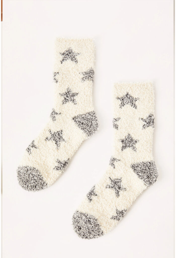 Star Plush Socks