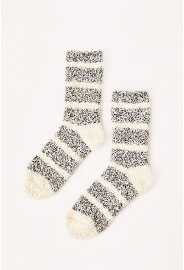 Z Supply Stripe Plush Socks