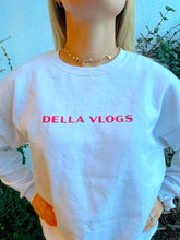 Load image into Gallery viewer, Della Vlogs Christmas Crewneck