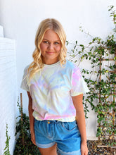 Load image into Gallery viewer, Neon Swirl Tie Dye T-Shirt
