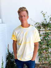 Load image into Gallery viewer, Sunshine Yellow Tie Dye T-Shirt