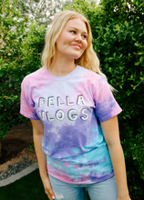 Load image into Gallery viewer, Cotton Candy Della Vlogs T-Shirt