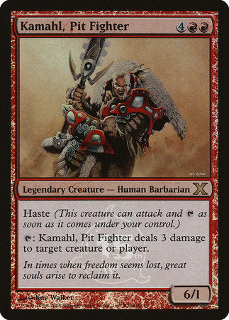 Kamahl, Pit Fighter [15th Anniversary Cards] | Marvin's Army Gaming