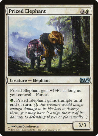 Prized Elephant [Magic 2013] | Marvin's Army Gaming