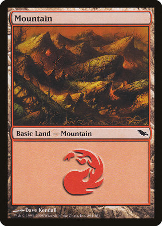 Mountain (294) [Shadowmoor] | Marvin's Army Gaming