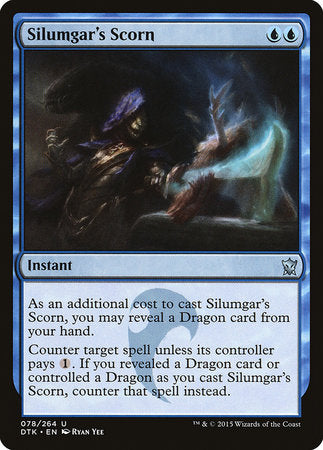 Silumgar's Scorn [Dragons of Tarkir] | Marvin's Army Gaming