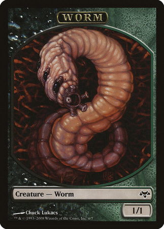 Worm Token [Eventide Tokens] | Marvin's Army Gaming