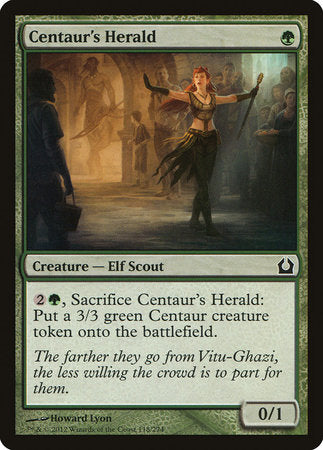 Centaur's Herald [Return to Ravnica] | Marvin's Army Gaming