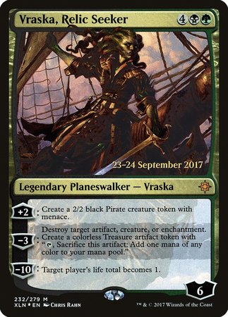 Vraska, Relic Seeker [Ixalan Promos] | Marvin's Army Gaming