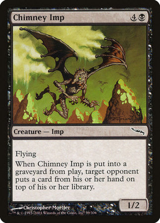 Chimney Imp [Mirrodin] | Marvin's Army Gaming