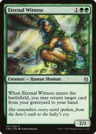 Eternal Witness [Commander Anthology] | Marvin's Army Gaming
