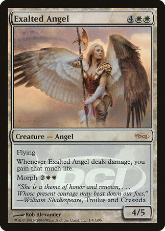 Exalted Angel [Judge Gift Cards 2006] | Marvin's Army Gaming