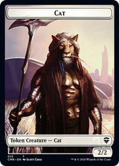 Cat // Soldier Double-sided Token [Commander Legends] | Marvin's Army Gaming
