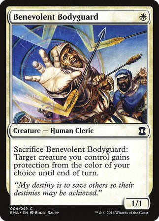 Benevolent Bodyguard [Eternal Masters] | Marvin's Army Gaming