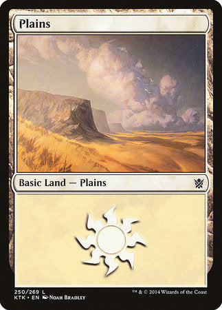 Plains (250) [Khans of Tarkir] | Marvin's Army Gaming