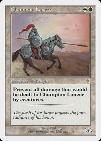 Champion Lancer [Starter 1999] | Marvin's Army Gaming