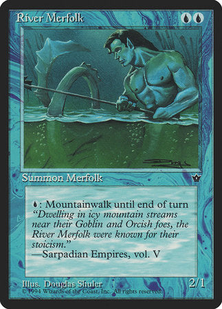 River Merfolk [Fallen Empires] | Marvin's Army Gaming