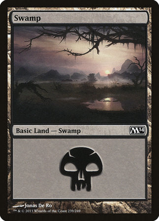 Swamp (239) [Magic 2014] | Marvin's Army Gaming