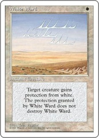 White Ward [Fourth Edition] | Marvin's Army Gaming