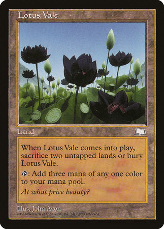 Lotus Vale [Weatherlight] | Marvin's Army Gaming